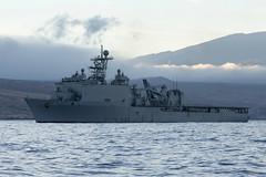 USS Rushmore (LSD 47) file photo. (U.S. Navy/MC2 Amanda R. Gray)