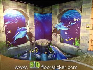 3d exhibition sticker (218) | by 3D floor sticker - YeJun