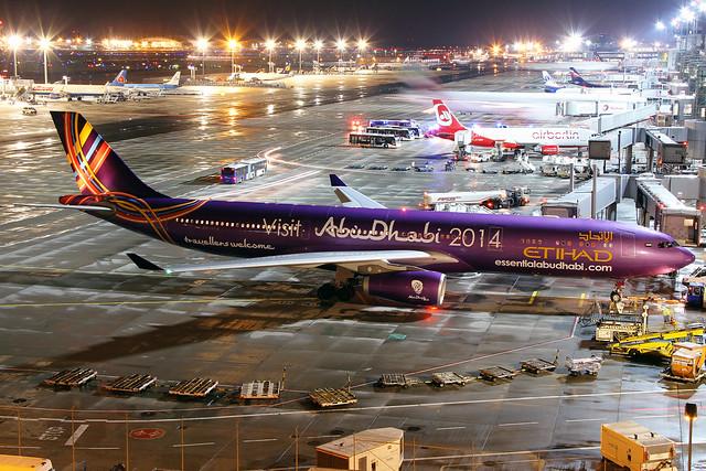Etihad Airbus A330-343X A6-AFA FRA 16-08-14