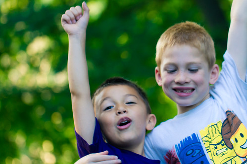Happy Kids Declare Victory | by Michael Bentley