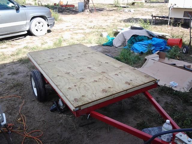 Gypsy trailor build 008