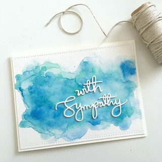 Simple sympathy card | by Kimberly Toney