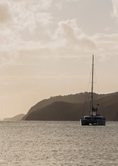Boat in Brewers Bay by mtk788