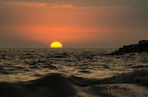 playa playas beach sunset atardecer peru lima