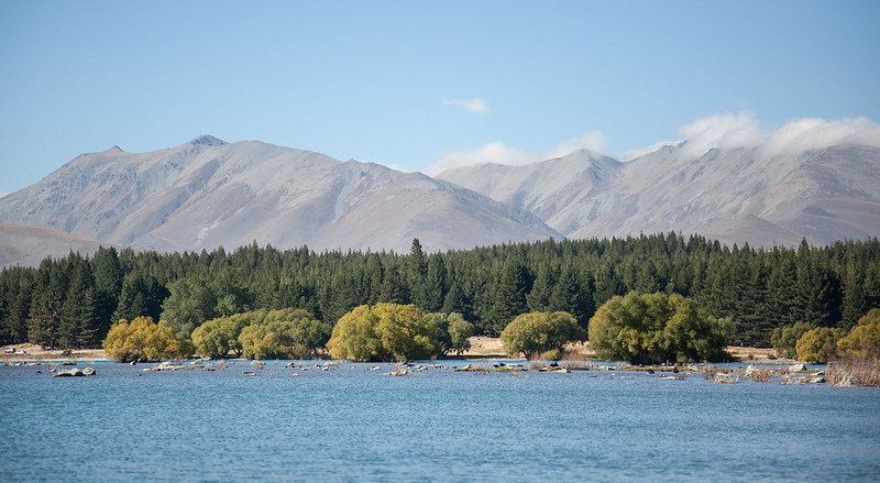 Tekapo lake, Canterbury, New Zealand