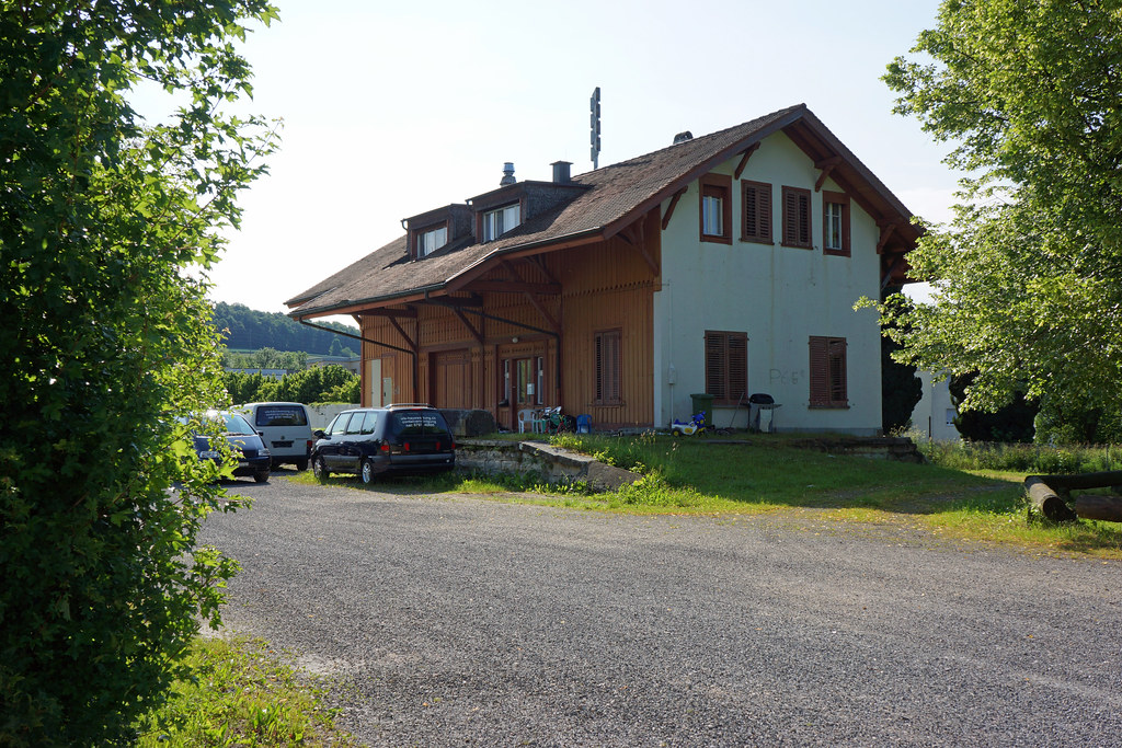 Buchs ZH, ehemaliger Bahnhof