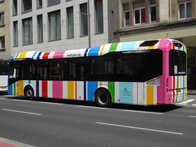 Luxembourg: Volvo 7900 Hybrid