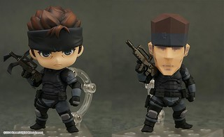 Nendoroid Solid Snake   by animaster