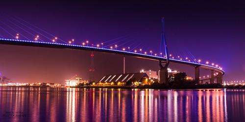 Köhlbrandbrücke Hamburg | by diablopb