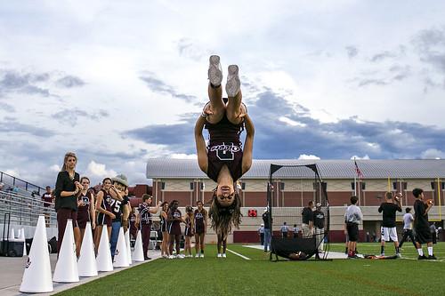 park school sunset usa college sports photography football high woodlands texas cheerleaders action unitedstatesofamerica photojournalism american cheerleading shenandoah pearland oilers cavaliers conroe hsfootball