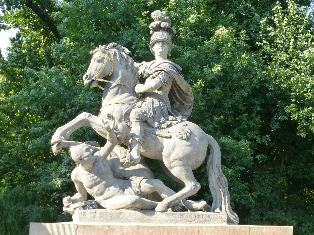 The Jan Sobieski Statue In łazienki Park Enwikipediaorg