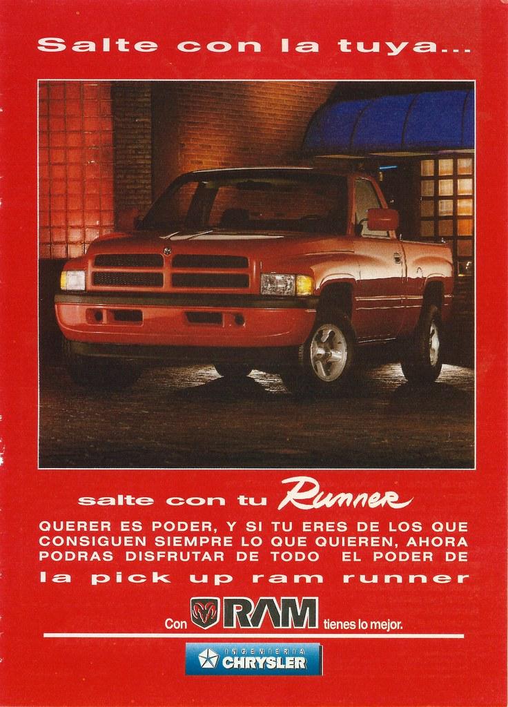 Dodge Ram Runner >> 1994 Dodge Ram Runner Mexico Interesting Short Wheelbase
