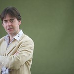 Robert Wilton was at the Book Festival to talk about The Spider of Sarajevo |