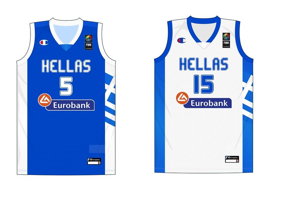 big sale 28a2f a2450 Greece National Team jersey (FIBA World Championship 2014 ...