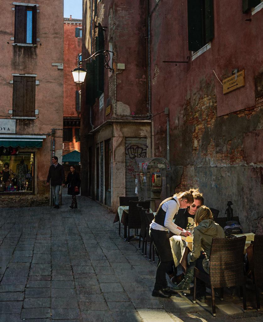 Lunch in Cannaregio sestiere