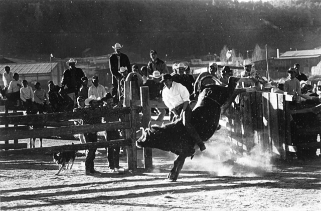 rodeo in Urique; Chihuahua, Mexico (2002)