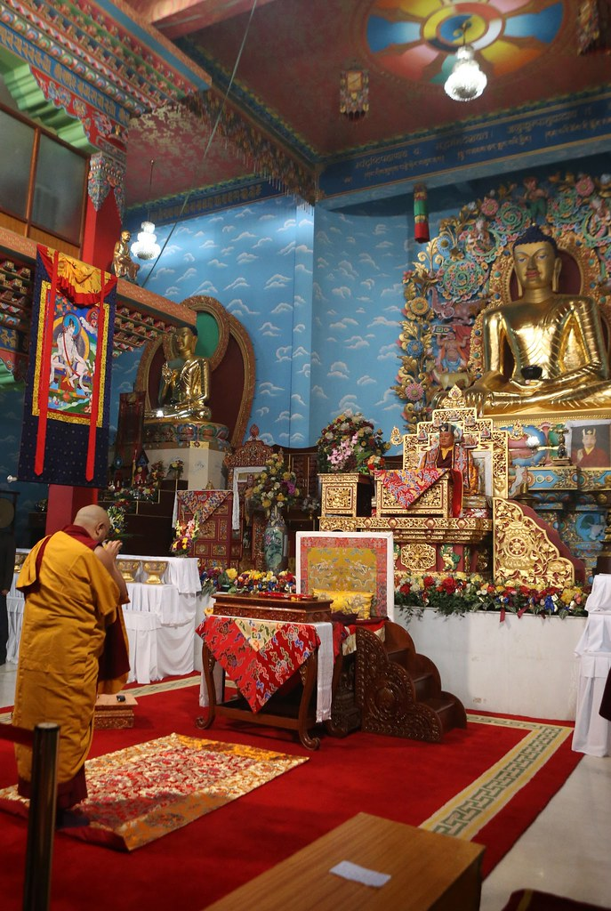 2016.01.24 The Gyalwang Karmapa Presides Over White Tara Puja Bestowing all Siddhis