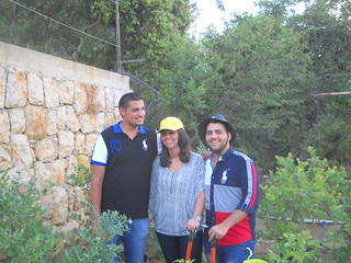 Tamim with Lameese & Rawad visit blueberry farm a May 28, 2014 | by toutberryfarms