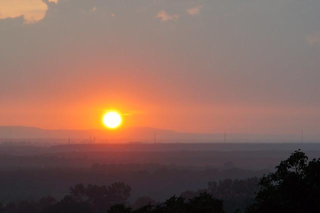 Explored: Sundown from Terrasse / Sonnenuntergang von der Terrasse