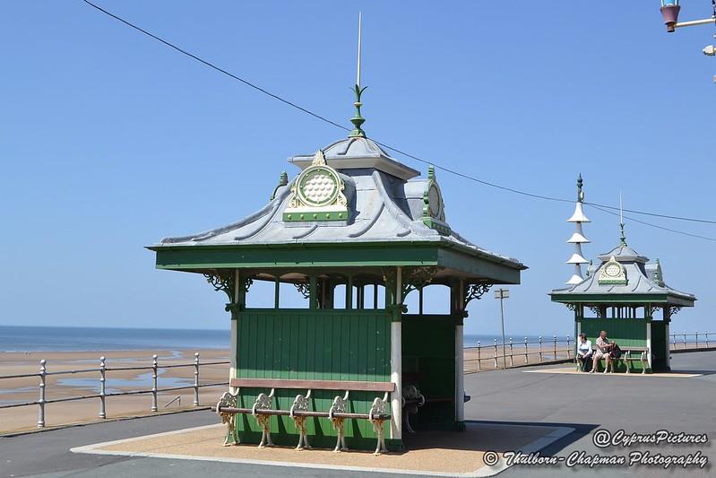 Promenade Shelters, Blackpool