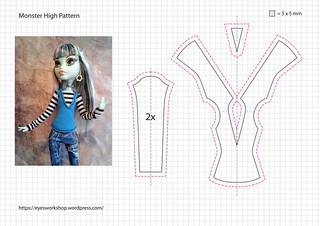 Monster High Pattern 1   by threeeyedghoul