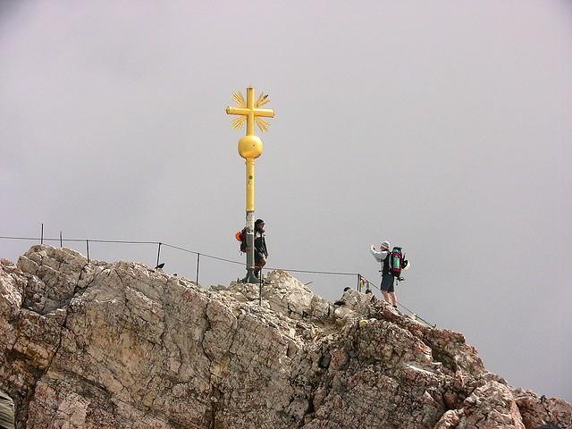 Germany, Allgäu, Zugspitzgipfel , 2962 Meter, reminder shot , 74193/5435