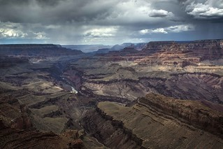 Rain in the Grand Canyon | by D. Scott Taylor