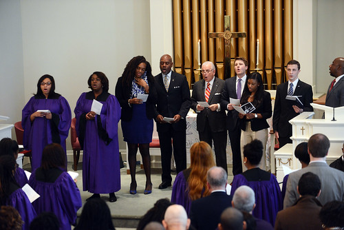 MLK Jr. Service by HIGH POINT UNIVERSITY