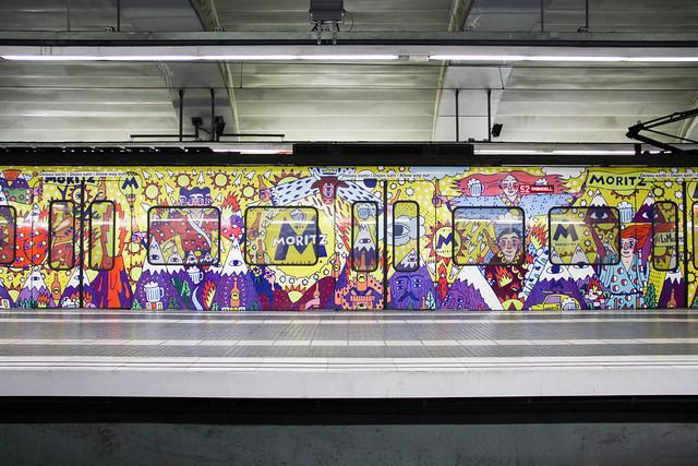 Barcelona - metro car design
