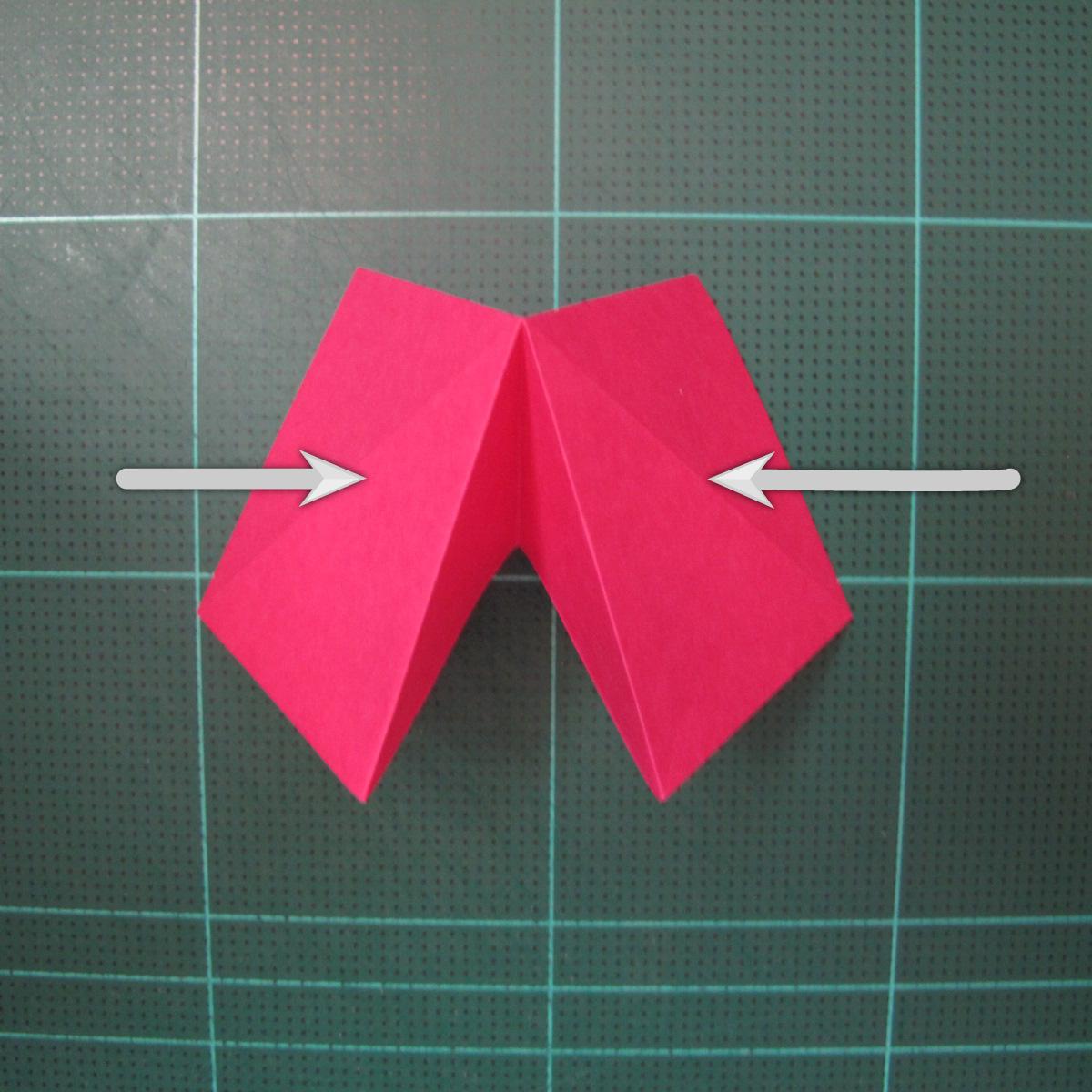 การพับกระดาษแบบโมดูล่าเป็นดาวสปาราซิส (Modular Origami Sparaxis Star) 005