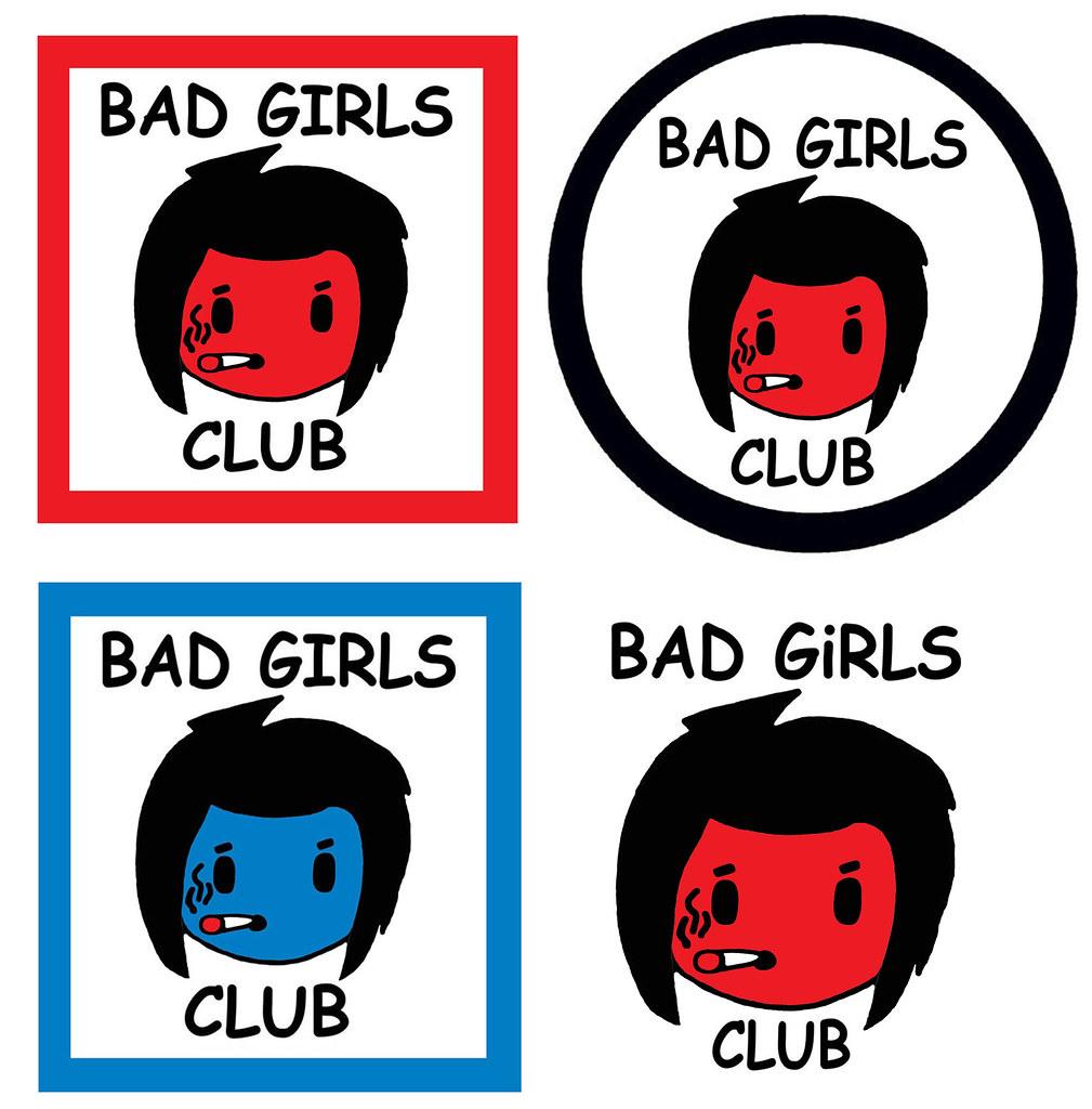 Bad Girls Club Sign Posters Punk B-Pop Kodomo Super Girl H