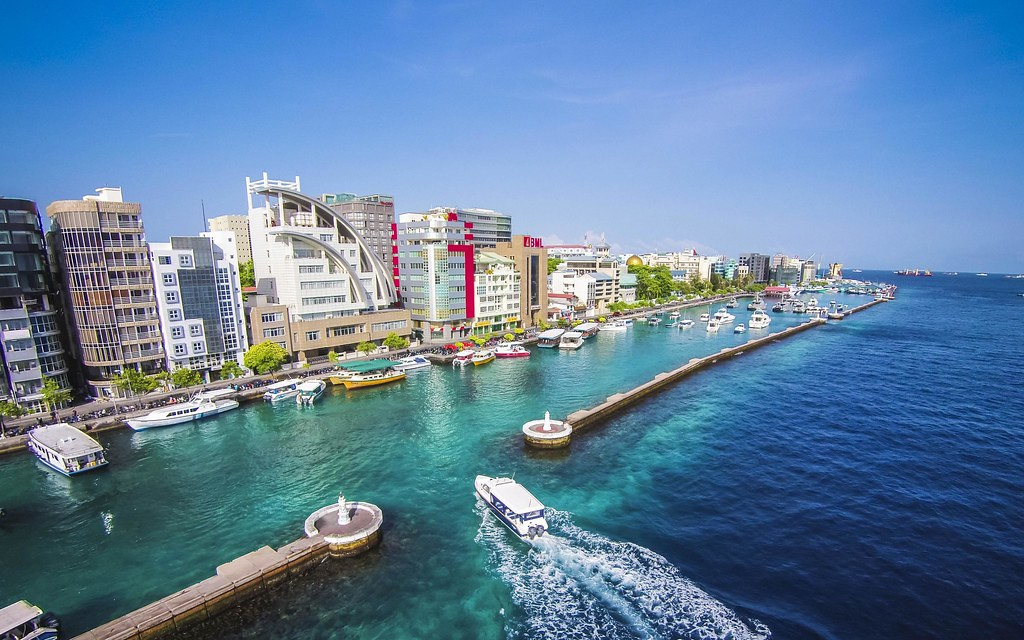 Male City Maldives A Tiny Island Densely Crowded With M