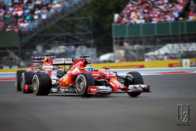 Fernando Alonso, Sebastian Vettel, an epic battle
