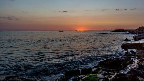 summer sunrise pier seaside blacksea nex7 sel1018oss