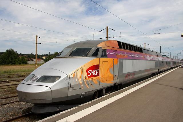 SNCF TGV 4530 380059 IRIS 320 Forbach