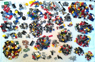 Minifigs, Bricks & More small bulk bag - contents | by dark_syntax