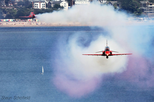 British Aerospace Hawk T1A 'The Red Arrows' Royal Air Force Dawlish 23/08/14/14 | by Shaun Schofield