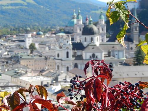 Salzburg - vanaf Moenchsberg - 2