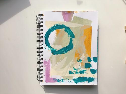 Abstract Painting 3/2017   by Tamara Hala