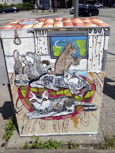 mural 2 on city transformer box | by stephenbrunelli