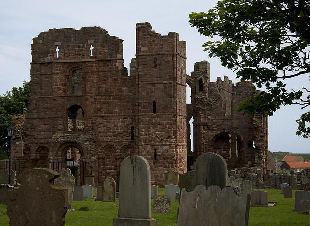 Lindisfarne Priory, Holy Island, Northumberland