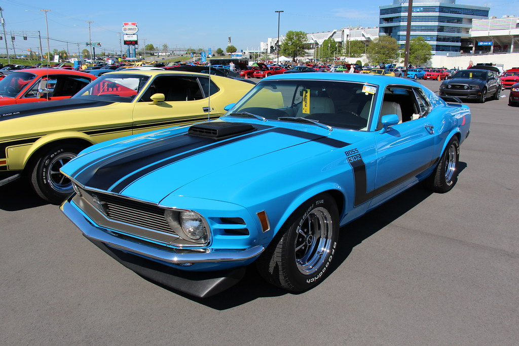 New Trans Am >> 1970 Ford Mustang Boss 302 | 861 made Grabber Blue Fords Pon… | Flickr
