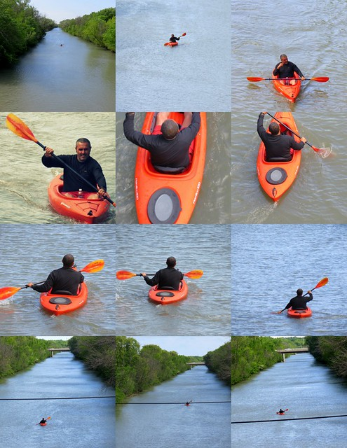 The Kayaker, Coming and Going