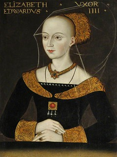 Queen Elizabeth Woodville, Wife of Edward IV, Mother of Elizabeth of York, Grandmother of Henry VIII | by lisby1