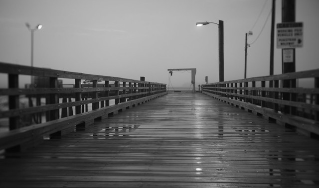 fishing pier, pine point