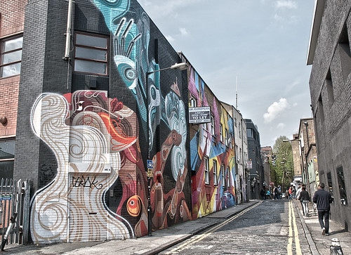 Shoreditch street art | by Ben124.
