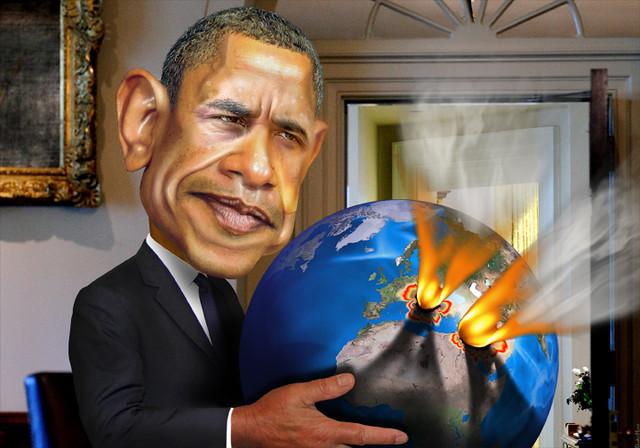 Barack Obama - Second Term Flare-Ups