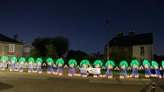 Lemmings - Light Painting