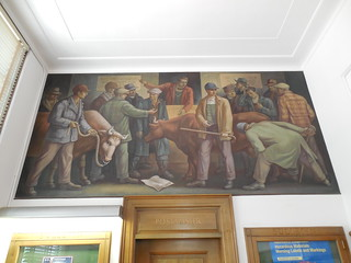 Sandusky Michigan Post Office Mural | by jimmywayne
