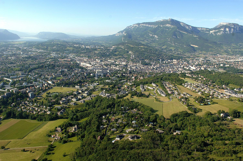 Chambéry, le Nivolet et le Lac du Bourget